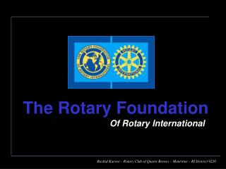 Of Rotary International