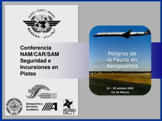 Conferencia NAM/CAR/SAM Seguridad e Incursiones en Pistas