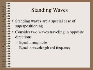 Standing Waves