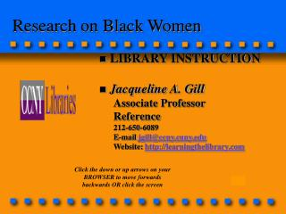 Research on Black Women
