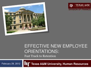 Effective new employee orientations: Fast Track to Retention