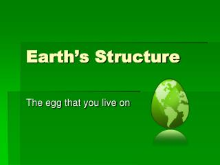 Earth's Structure