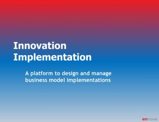Innovation Implementation