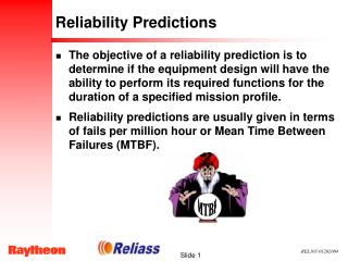 Reliability Predictions