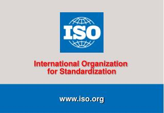 International Standards and Conformity Assessment by Mr. Graeme Drake, Head of Conformity Assessment ISO Central Secreta