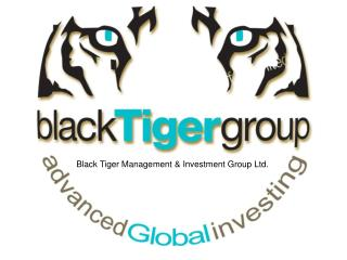 Black Tiger Management & Investment Group Ltd.