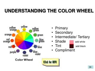 UNDERSTANDING THE COLOR WHEEL