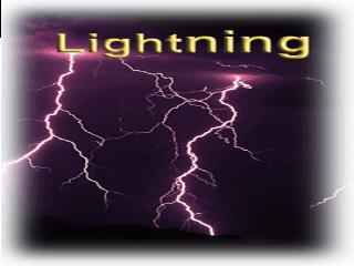 I. INTRODUCTION A. Types of lightning  II. LIGHTNING DENSITY MAPS   A. Ground Flash density .For example (world, us etc)