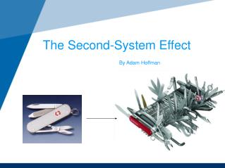 The Second-System Effect