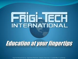 Education at your fingertips