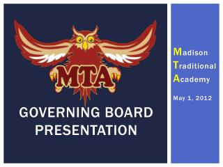 Governing Board Presentation