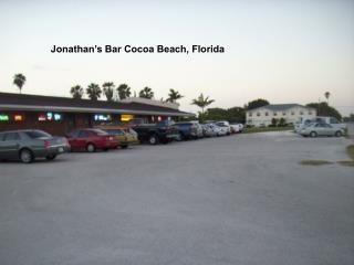 Jonathan's Bar Cocoa Beach, Florida