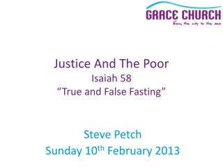 Steve Petch Sunday 10 th  February 2013