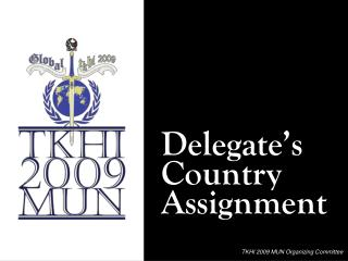 Delegate's Country Assignment