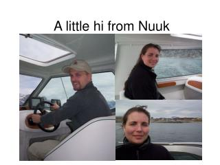 A little hi from Nuuk