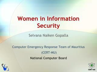 Women in Information Security