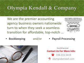 Olympia Kendall & Company