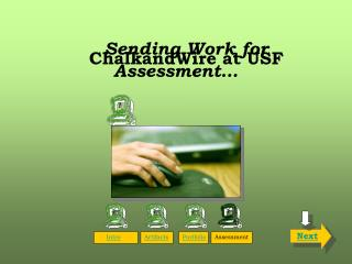 Sending Work for Assessment…
