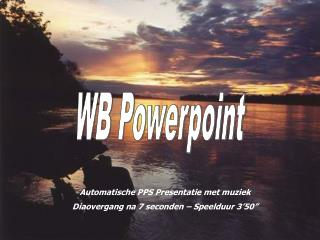 WB Powerpoint