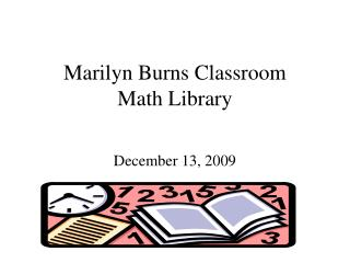 Marilyn Burns Classroom Math Library