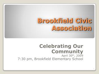Brookfield Civic Association