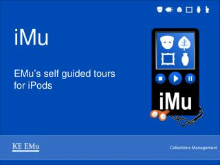 iMu EMu's self guided tours for iPods