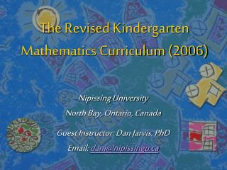 Nipissing University North Bay, Ontario, Canada Guest Instructor: Dan Jarvis, PhD Email:  danj@nipissingu