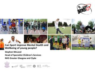Can Sport improve Mental Health and Wellbeing of young people?