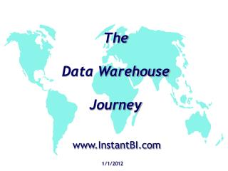 The  Data Warehouse Journey