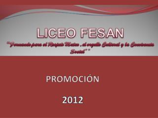 PRESENTACION 1103 GRADOS 2012