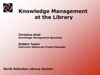 North Suburban Library System