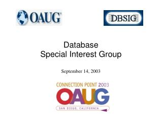 Database Special Interest Group