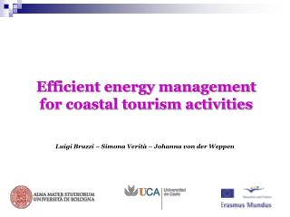 Efficient energy management for coastal tourism activities
