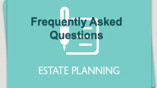 Are there any special considerations that go into estate pla
