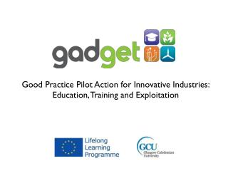 Good Practice Pilot Action for Innovative Industries: Education, Training and Exploitation