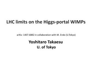 LHC limits on the Higgs-portal WIMPs