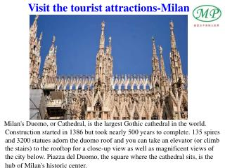 Visit the tourist attractions-Milan