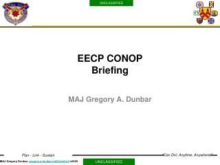 EECP CONOP Briefing