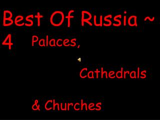 Best Of Russia ~ 4