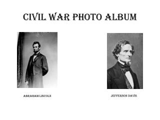 Civil War Photo Album