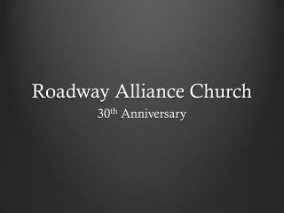 Roadway Alliance Church
