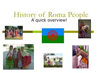 History of Roma People