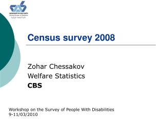 Census survey 2008
