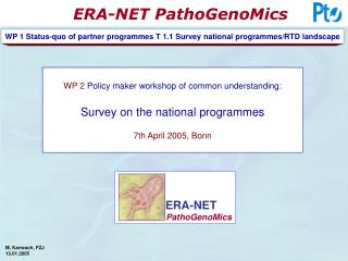 PathoGenoMics