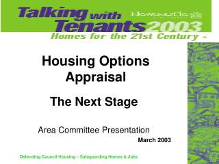 Housing Options Appraisal