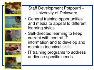 Staff Development Potpourri – University of Delaware