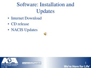 Software: Installation and Updates
