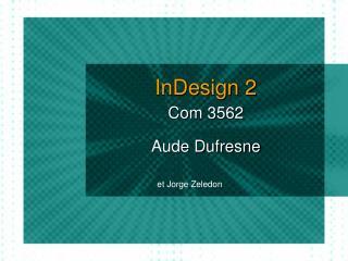 InDesign 2