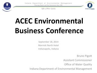 ACEC Environmental Business Conference