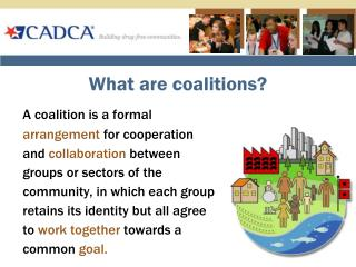 What are coalitions?